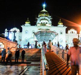 Gurdwara (Sikh temple) Bangle Sahib.